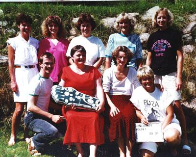 Zoneterapeutskolen i Kolding, klassefoto 1990